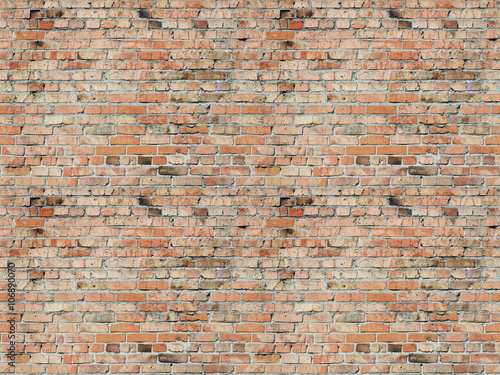 Door stickers Brick wall brick wall