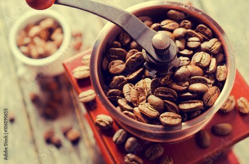 Papiers peints Café en grains Whole coffee beans