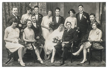 Old Family Wedding Portrait Vi...