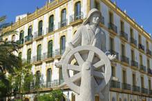 Seafarers Monument, Ibiza Town, Ibiza, Balearic Islands, Spain