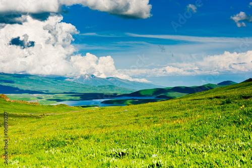 In de dag Lime groen Beautiful landscape of Armenia