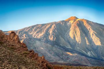 View to El Teide volcano