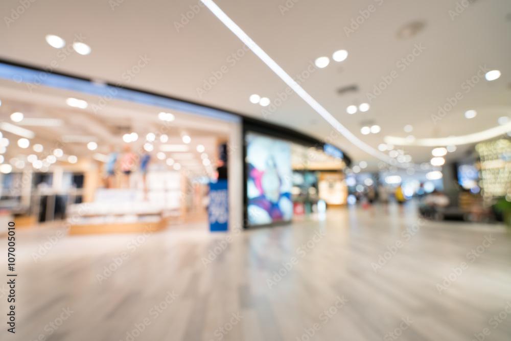 Fototapety, obrazy: Blurred, defocused background of modern department store