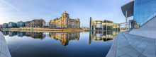Reichstag With Reflection In R...