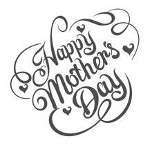 Mothers Day, Text, Vector