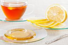 Cup Of Tea, Fresh Lemon And Honey