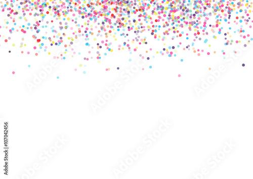 Obraz Confetti - fototapety do salonu