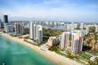 canvas print picture - Miami Beach