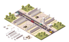 Vector Isometric Border Checkpoint