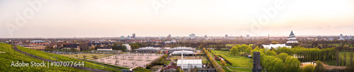 Poster Antwerpen Magdeburg - Panorama