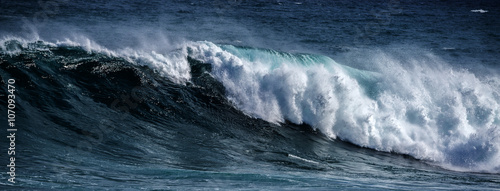 Canvas Prints Water big sea wave