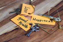 Secret Key For A Good Life