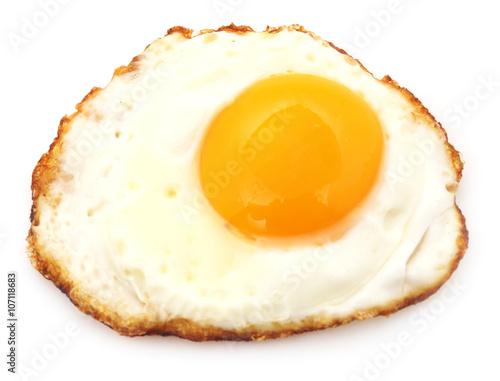Deurstickers Gebakken Eieren Fried egg.