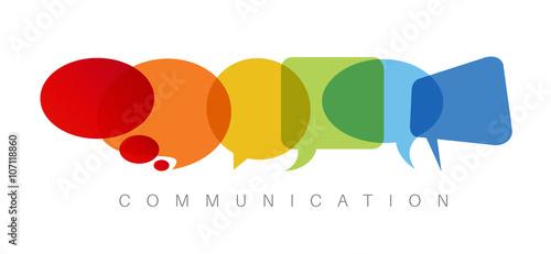 Fotografía  Communication concept illustration