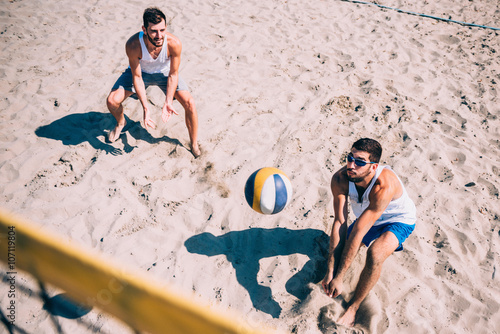 Beach volleyball men