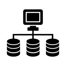 Dataset Or Network Icon
