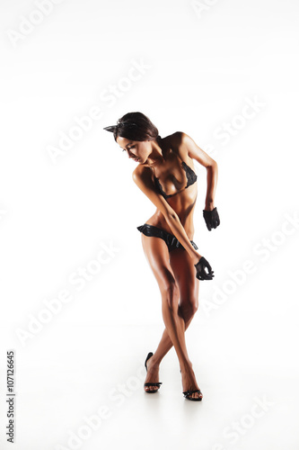 Fotografia Dancer girl with perfect body