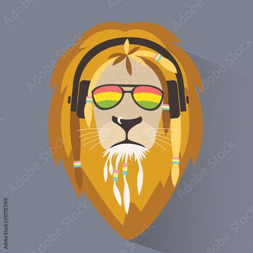 Photo  Lion reggae