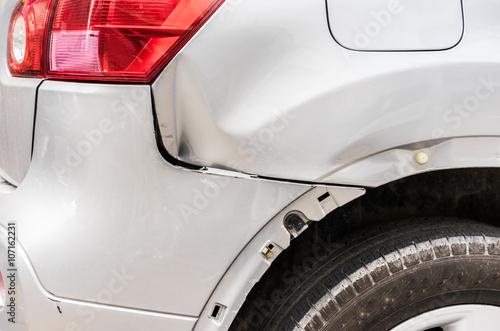Fotografía  Pkw Fahrzeug Schaden