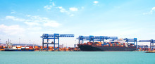 Cargo Ship Fully Loaded With C...