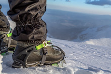 Snow Crampons For Extreme Excu...