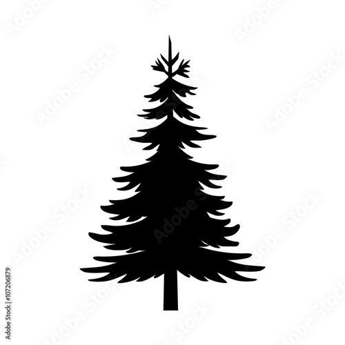 Cuadros en Lienzo Tree Silhouette