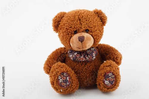 Toy plush bear Brown #107216891