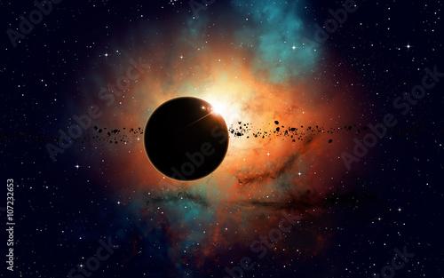 Fotografia Deep Space Eclipse