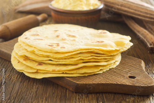 Stampe  Homemade tortilla