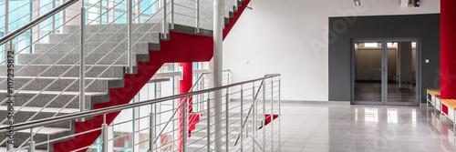 Photographie Hallway of modern university
