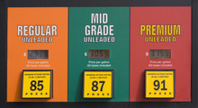 Gas Prices At A Pump
