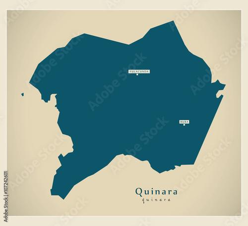 Photo Modern Map - Quinara GW
