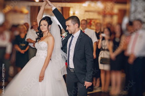 Fototapeten Tanzschule wedding day HD