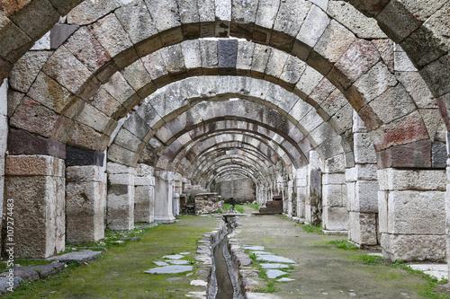 Agora of Smyrna in Izmir, Turkey Wallpaper Mural