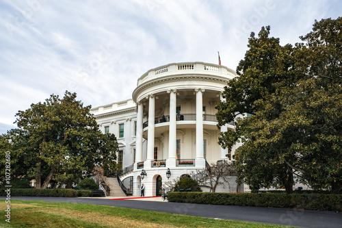 Fényképezés  White House in Washington