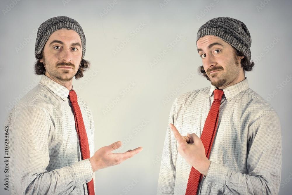 Photo & Art Print Twins Men Beards | EuroPosters