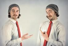 Twins Men Beards