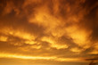 Beautiful stormy sunset sky. Cloudy abstract background. Sunset