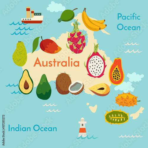 mapa-australii-z-owocami