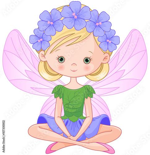 Printed kitchen splashbacks Fairytale World Spring Fairy