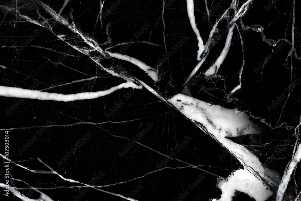 Foto  blalck marble pattern texture on high resolution