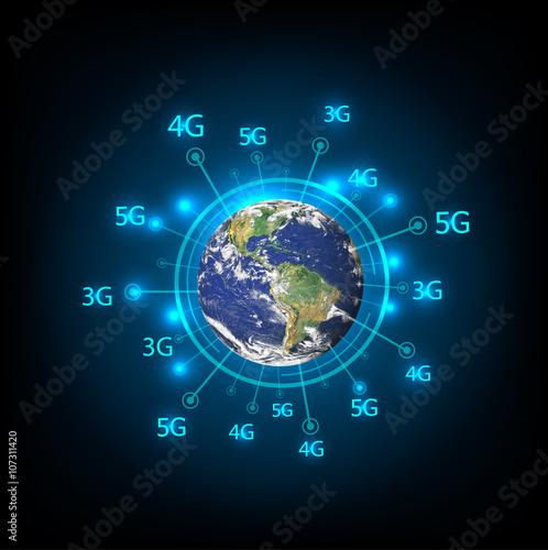 Best internet concept of global business  3g 4g 5g data plan