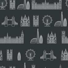England Seamless Pattern 1