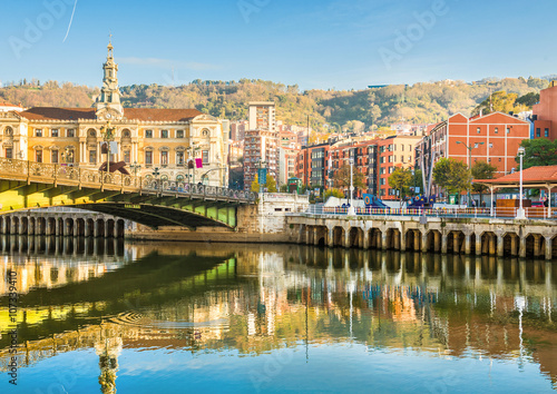 Bilbao city in november - shots of Spain - Travel Europe