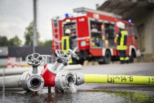 Freiwillige Feuerwehr Fototapeta