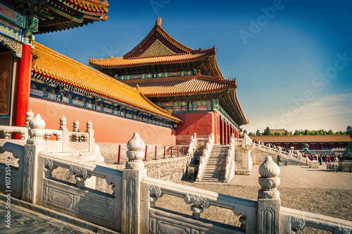 Foto op Canvas Peking Beijing city - Shots of China