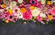 Leinwandbild Motiv Flowers
