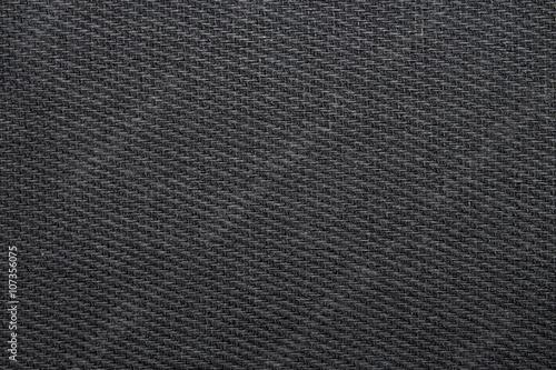 Foto op Plexiglas Stof black woven fabric