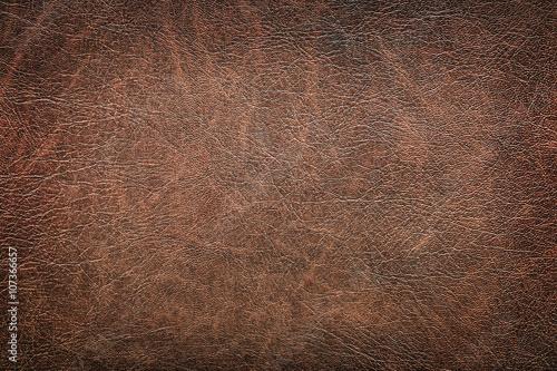 Fotomural background of red vintage leather grunge
