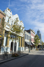 Historical Buildings In Downtown Mobile, Alabama